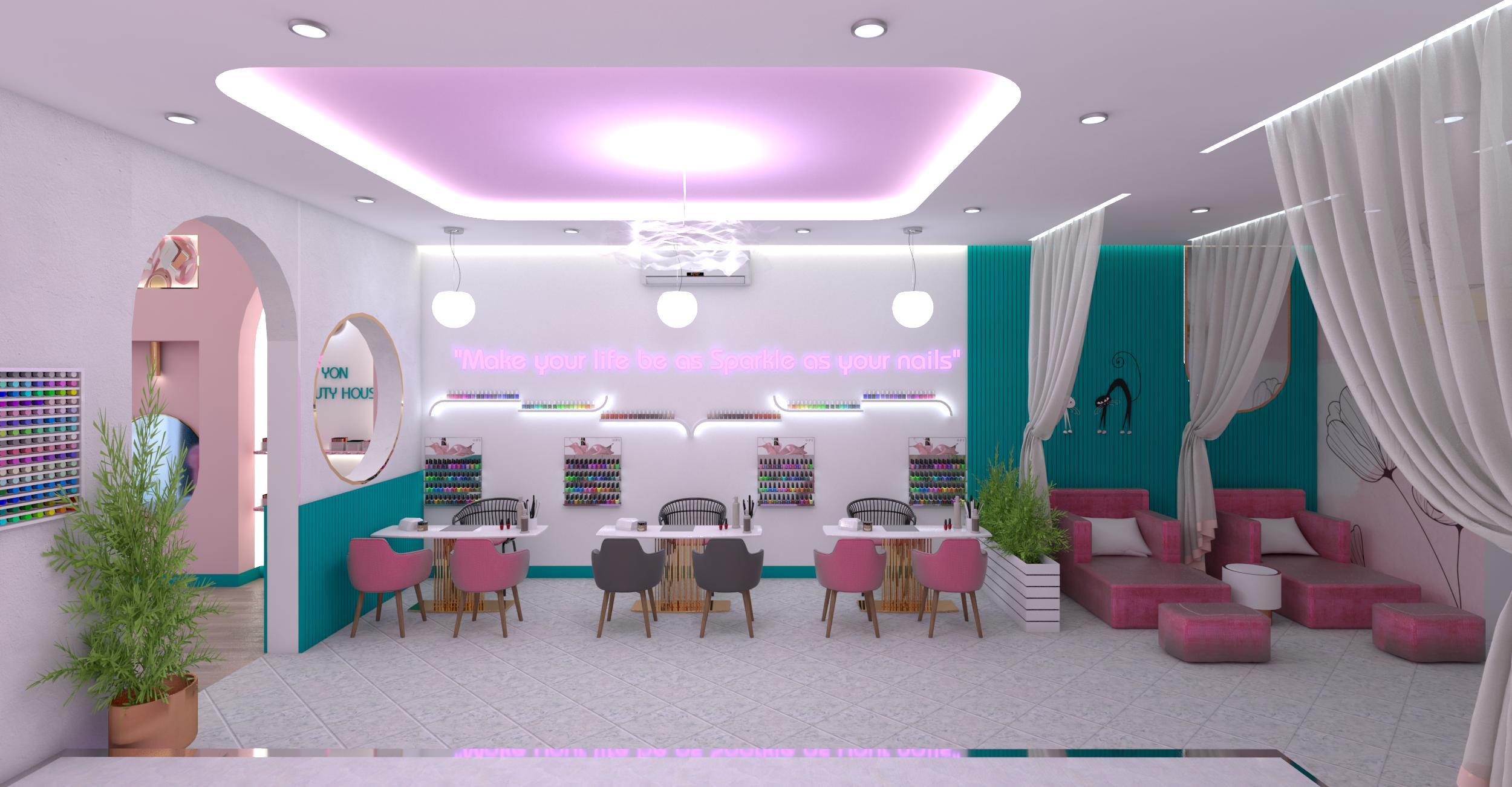 100+ Mẫu thiết kế tiệm nail thu hút khách hàng