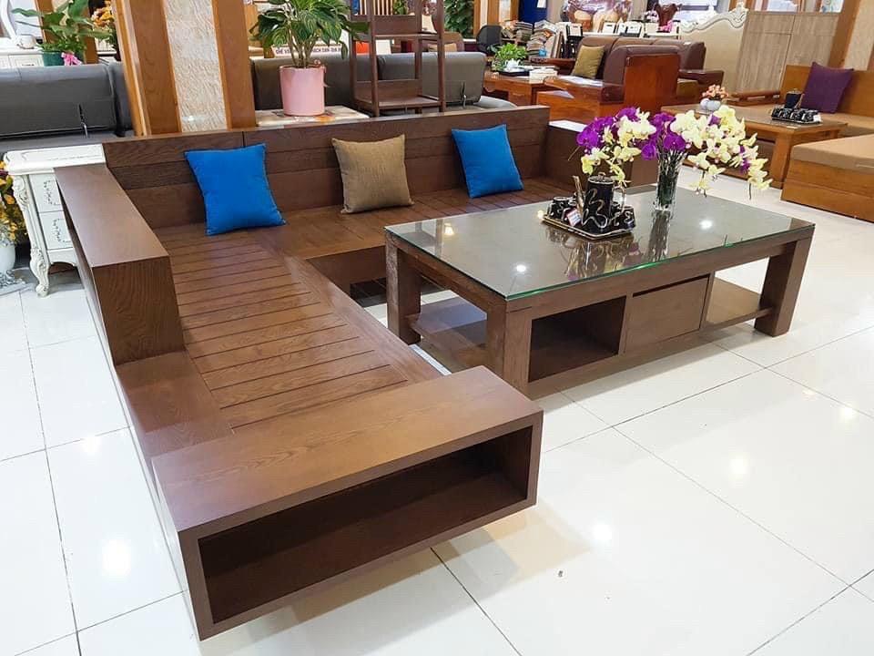 500+ mẫu bàn ghế, sofa gỗ phòng khách phù hợp với mọi không gian