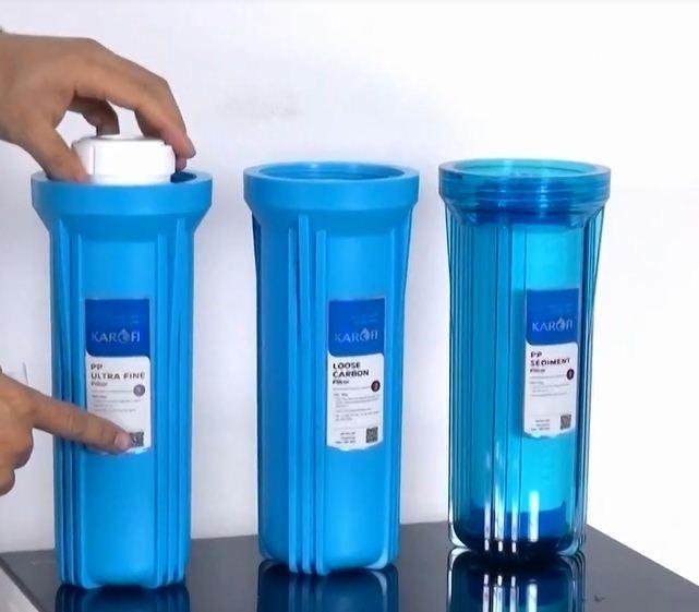 Hướng dẫn thay lõi lọc máy lọc nước Karofi iro 2.0 tại nhà