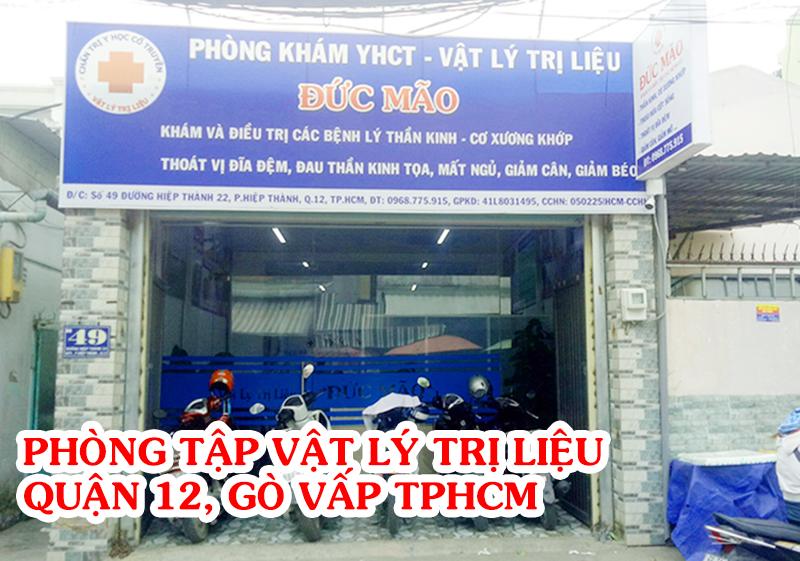 [Đánh Giá] Phòng Tập Lý Trị Liệu Ở quận 12, Gò Vấp tốt nhất TPHCM!!