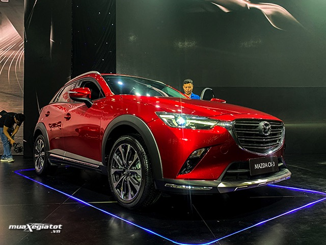 Mazda CX-3 2021 giá lăn bánh, thông số xe, trả góp (04/2021)