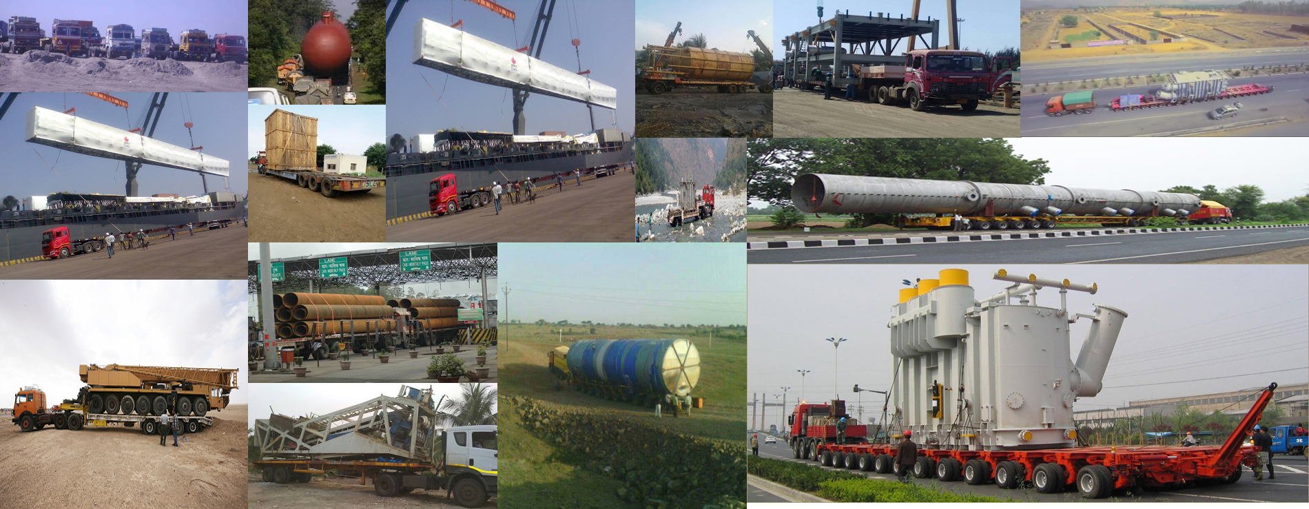 India's 1st Heavy Haulage Truck Aggregator Transporter logistic