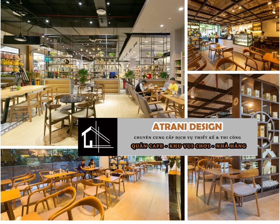 Báo giá dịch vụ thi công - thiết kế quán cafe trọn gói chi phí thấp