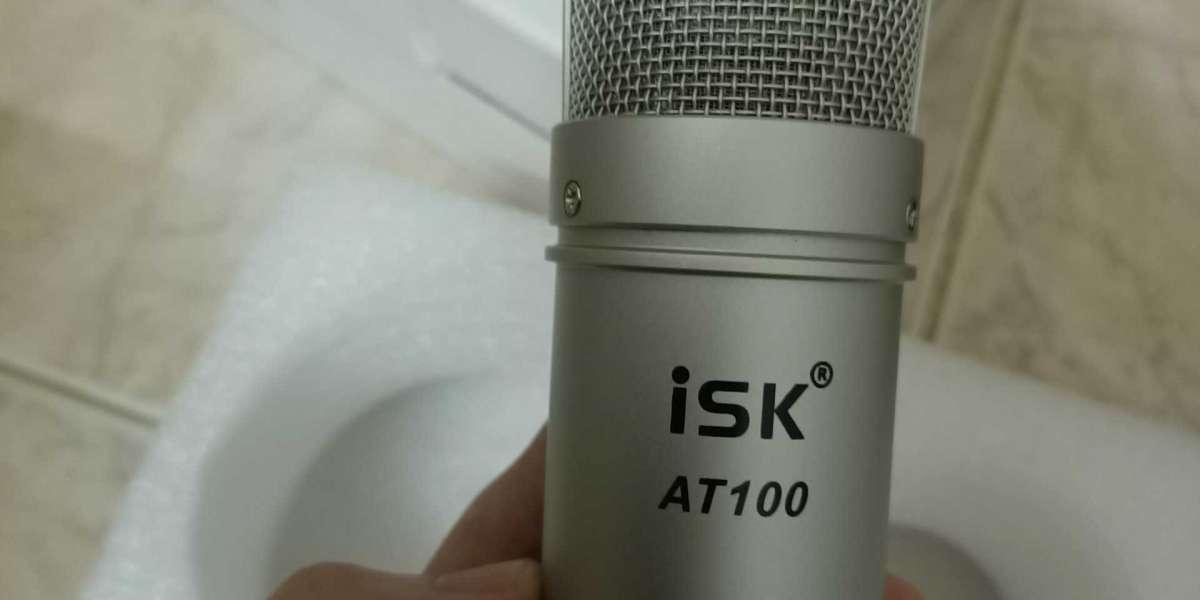 Micro thu âm ISK AT100  - Hàng chính hãng