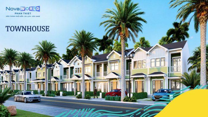 Nhà phố Novaworld Phan Thiết giá bao nhiêu năm 2021