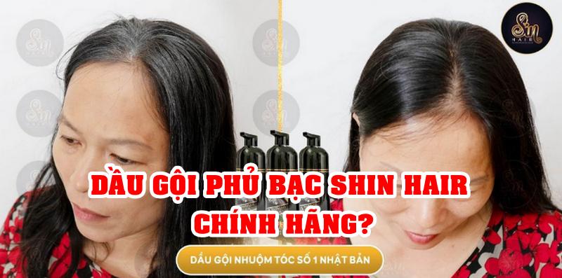 1️⃣ Mua Dầu Gội Phủ Bạc Shin Hair Nhật Bản Chính Hãng ở Đâu?