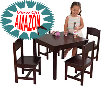 12 Best Kids Table and Chair set for playing and eating this