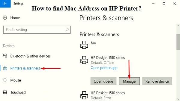 How to find Mac Address on HP Printer? | HP Customer Service