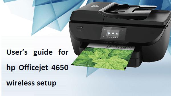HP Officejet 4650 wireless setup | HP 4650 Printer Setup