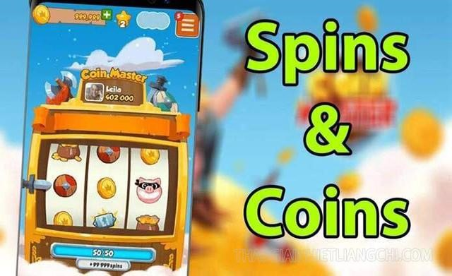 Link nhận spin Coin Master free hàng ngày - hack spin coin master