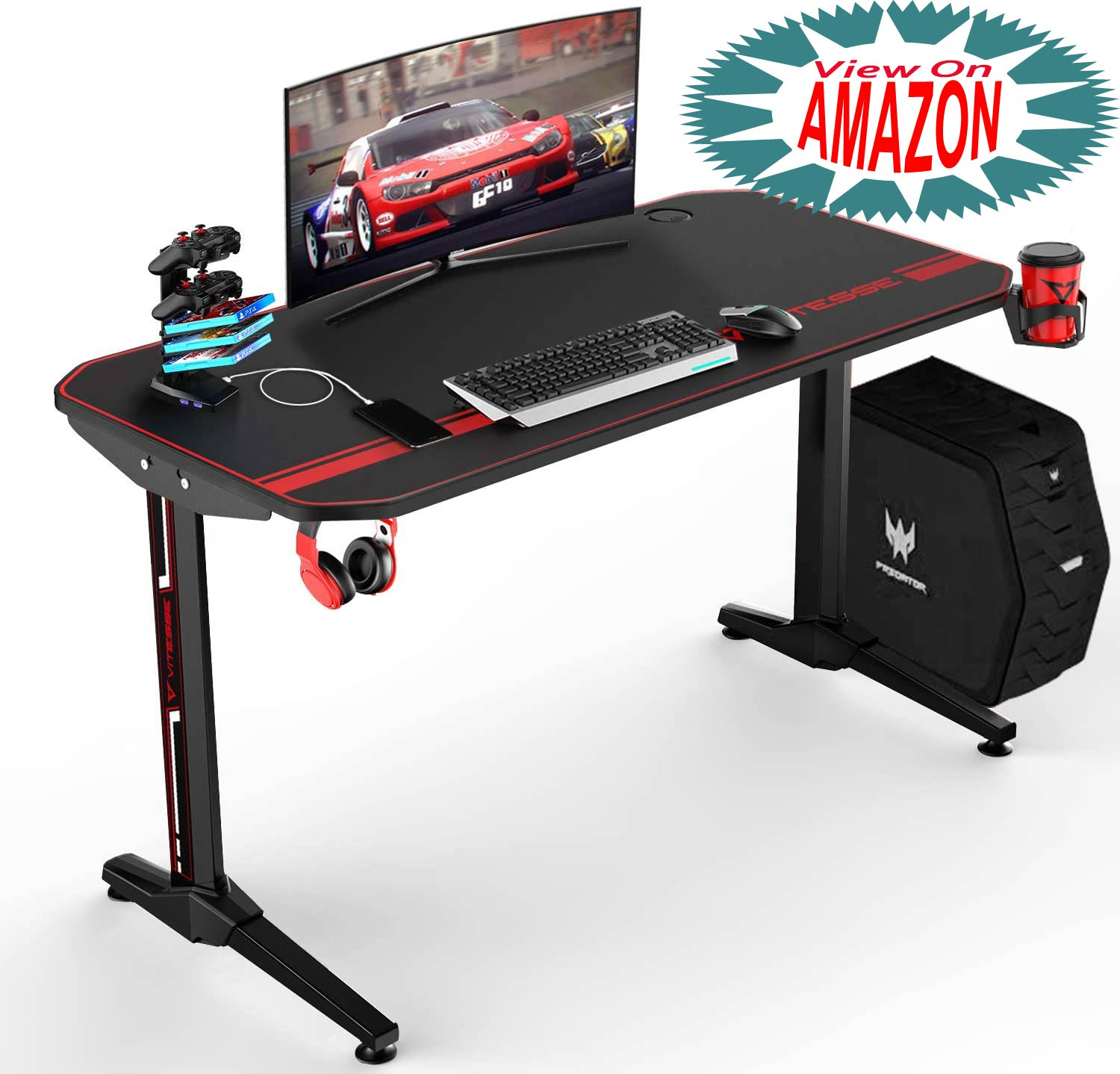 12 Best Gaming Desk for boys and girls to enjoy playing game