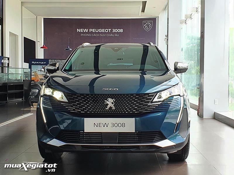 Peugeot 3008 2021 giá lăn bánh, Đánh giá xe, Khuyến mãi (07/2021)