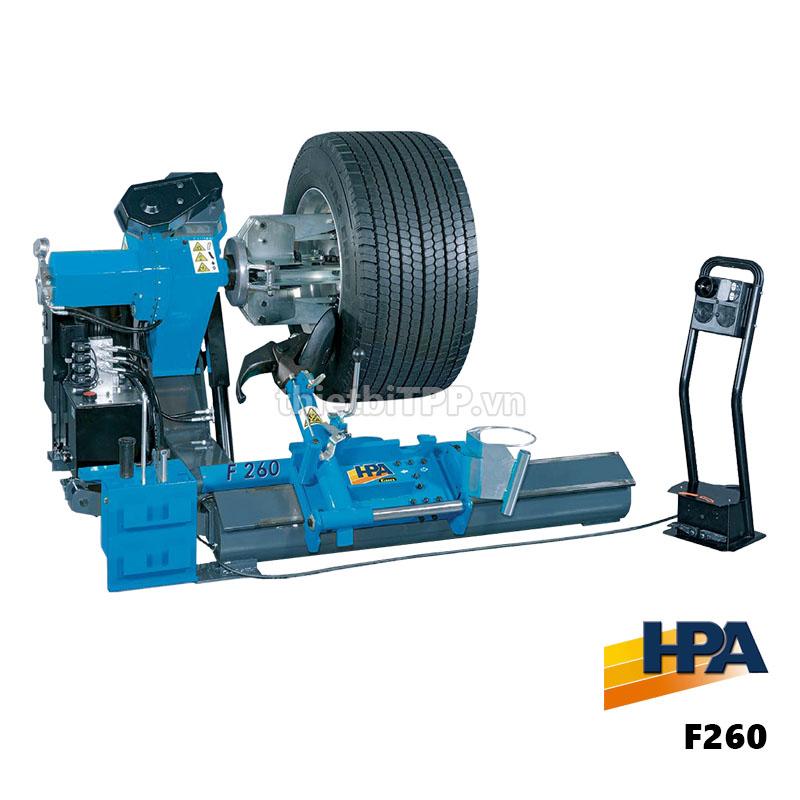 Máy ra vào vỏ lốp xe tải xe buýt HPA F260 Italy | Thiết bị TPP