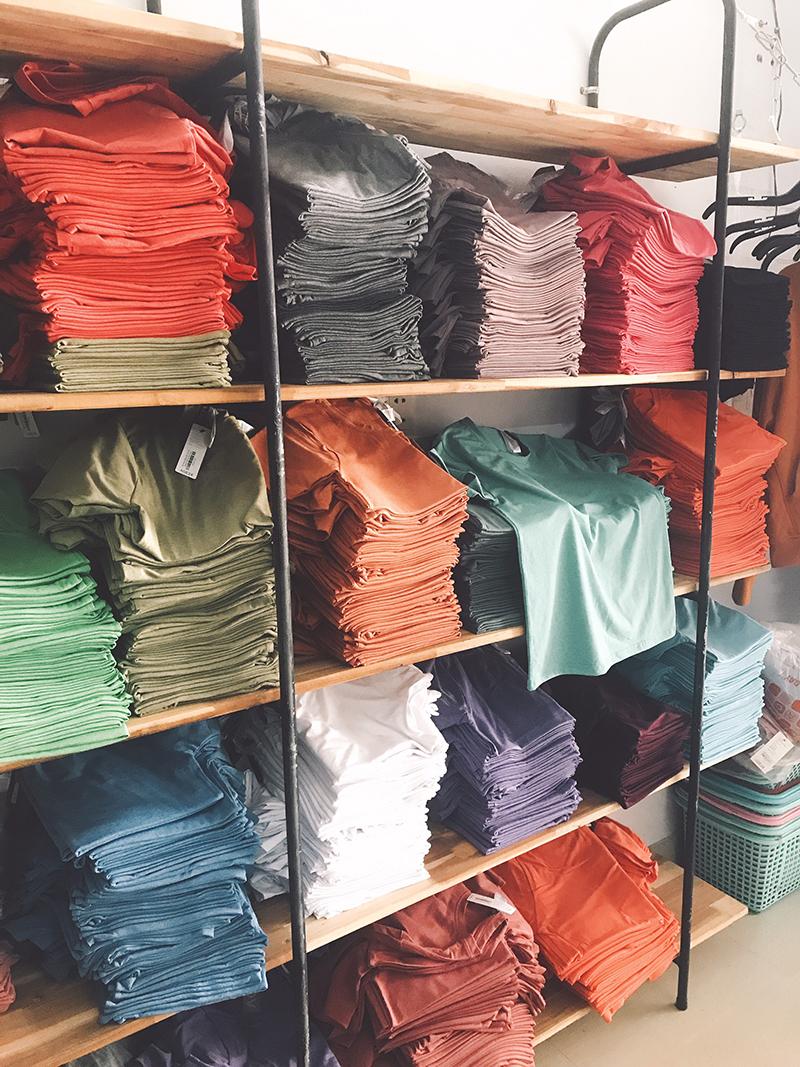 Nguyên nhân và cách khắc phục áo in chuyển nhiệt màu loang lổ – Diaries Blog