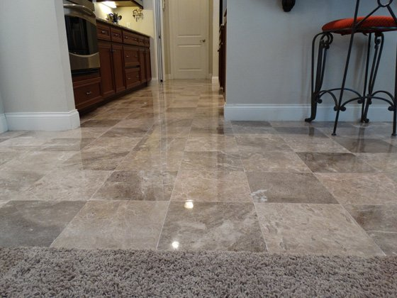 Marble Floor Honed & Polished   Complete Stone Care and Protection