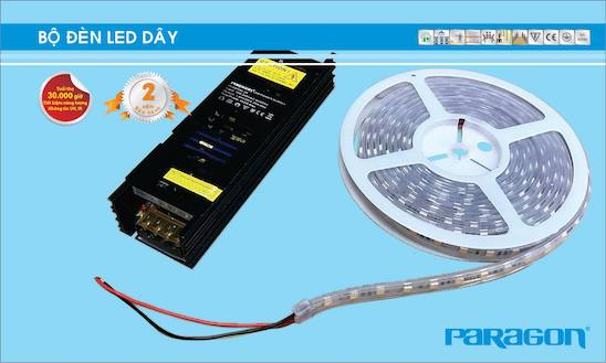 Giới thiệu 2 mẫu đèn led dây dán tường chất lượng giá tốt nhất