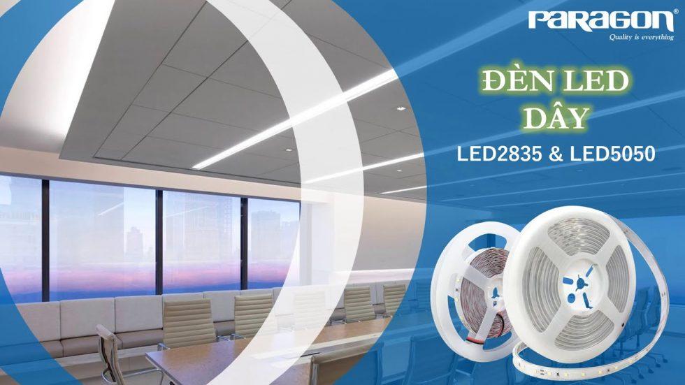Đèn led dây 5050 là gì mà tại sao lại được ưa chuộng đến thế?