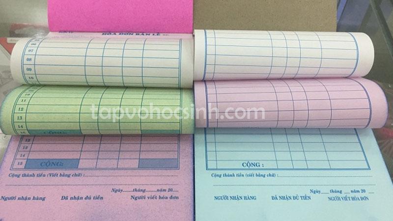 In hóa đơn xuất nhập kho theo yêu cầu tại Tphcm - Tập vở học sinh