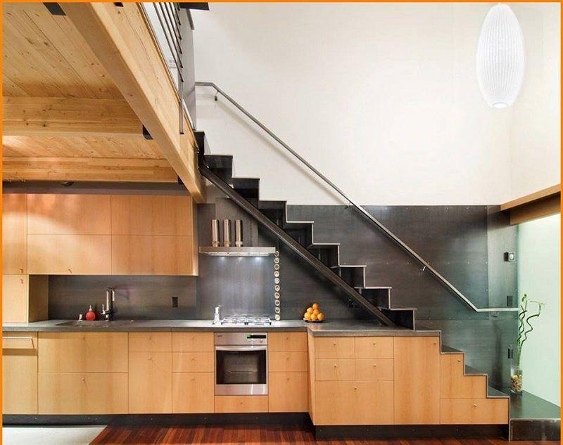Xu hướng thiết kế tủ bếp dưới gầm cầu thang Hot nhất trong năm - Kiến Thiết Việt