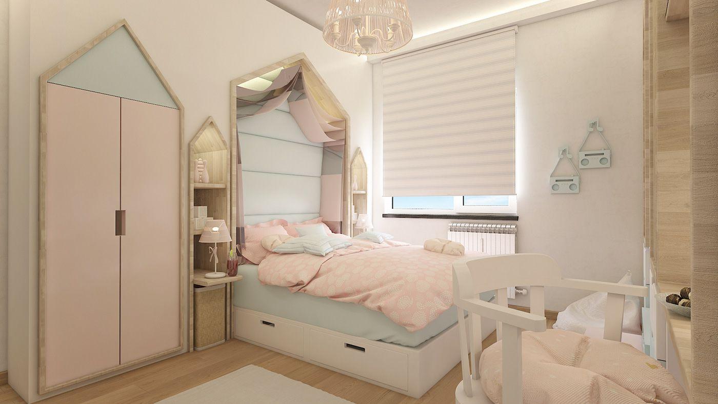 Tổng hợp các mẫu phòng ngủ đẹp cho bé gái cực dễ thương - KDesign