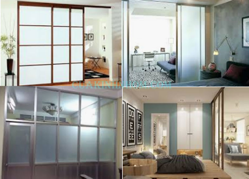 Vách ngăn nhôm kính phòng ngủ giá bao nhiêu tiền