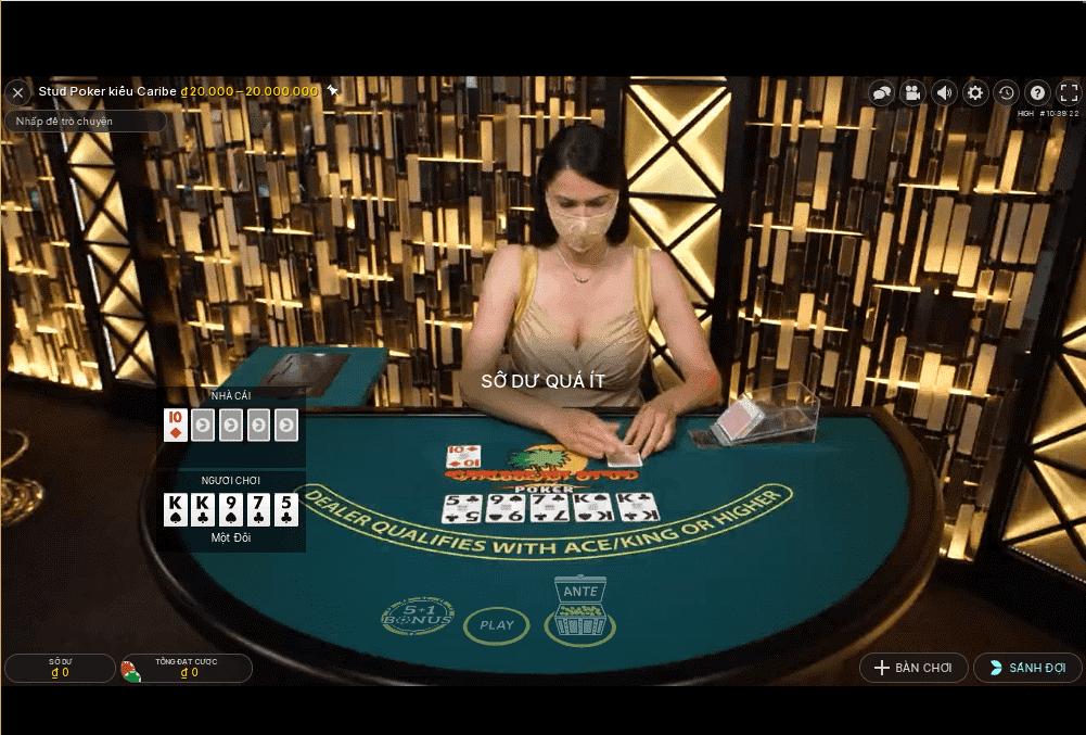 Cách Chơi Game Caribbean Stud Poker Có Khó Như Lời Đồn?