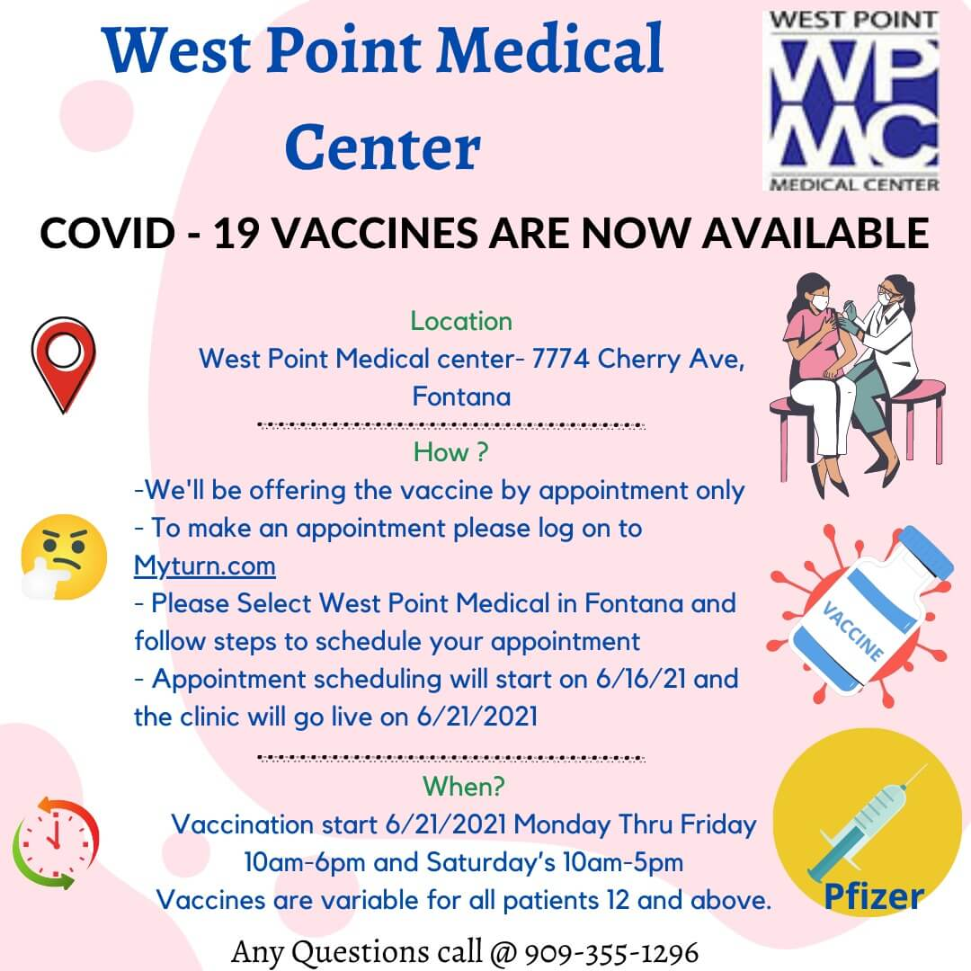 West Point Medical Center | Urgent Care in Fontana CA