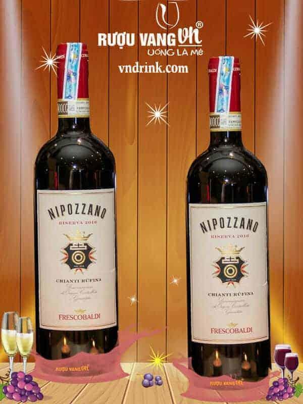 Rượu Vang Nipozzano Riserva Chianti Rượu Vang VN