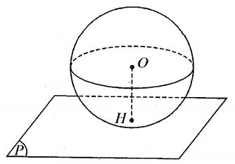 Phương trình mặt cầu tiếp xúc mặt phẳng ? Cách viết phương trình và bài tập