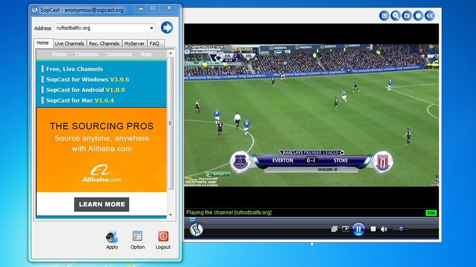 Phần mềm Sopcast là gì? Hướng dẫn sử dụng sopcast để xem bóng đá nhanh nhất 2021 - Fun88one.net